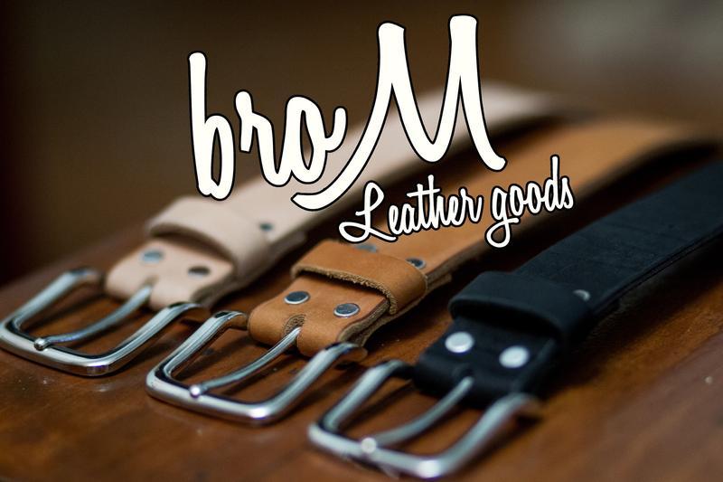 Brom leather goods