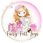 fairy felt toys