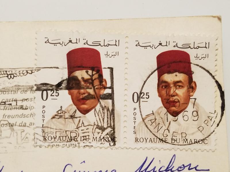 Можно ли отправлять открытки без марокко