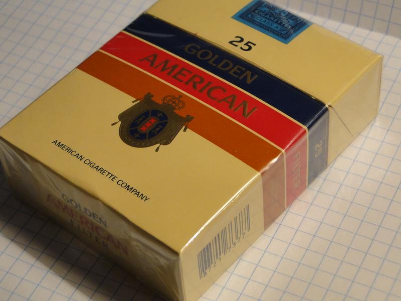 голден американ сигареты купить