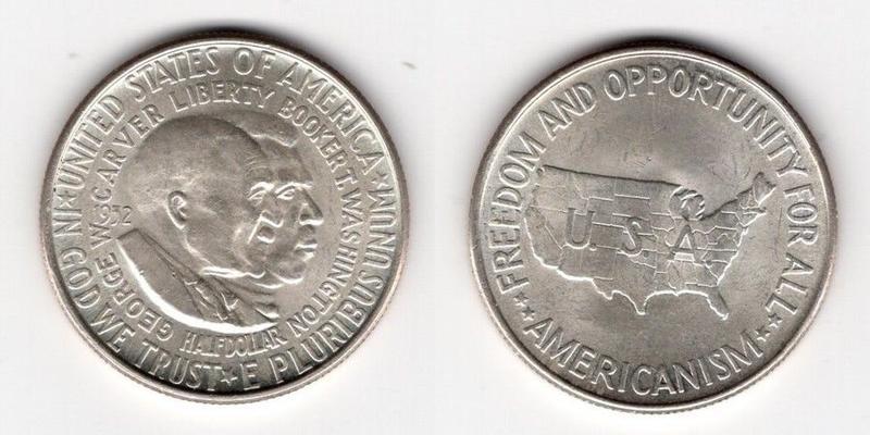 50 центов сша 1952 год вашингтон карвер российские монеты 10 рублей стоимость