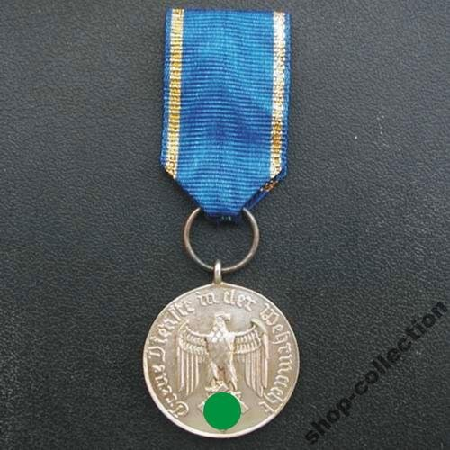 Медаль выслуги в Вермахте 4 года Лот №6507388541 - купить на Crafta.ua