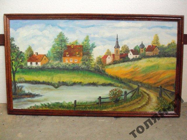 это куплю картину деревенский пейзаж для интерьера обязательно добавьте список