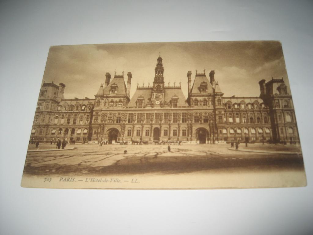 Старый париж на почтовых открытках, все