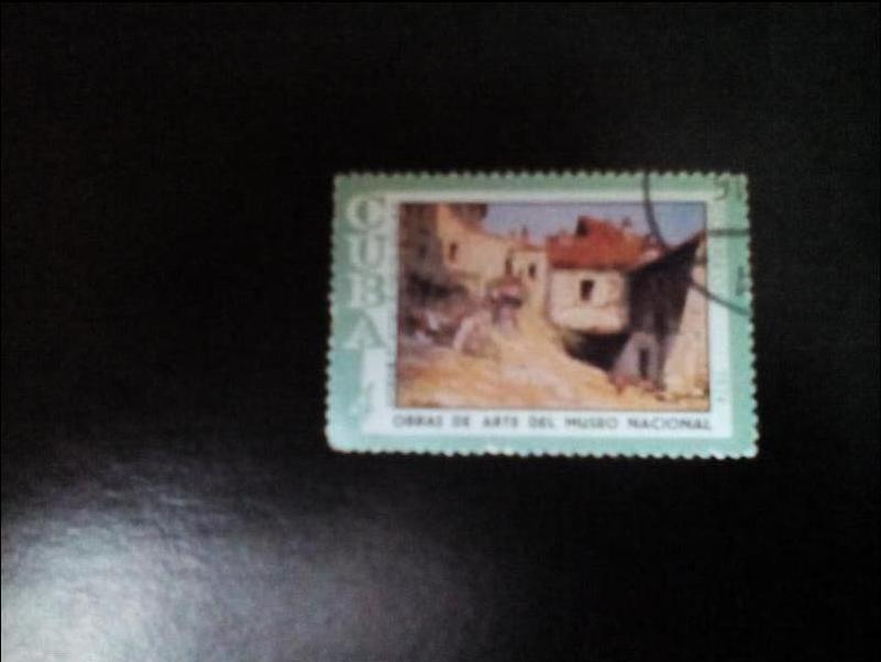Почтовые открытки куба