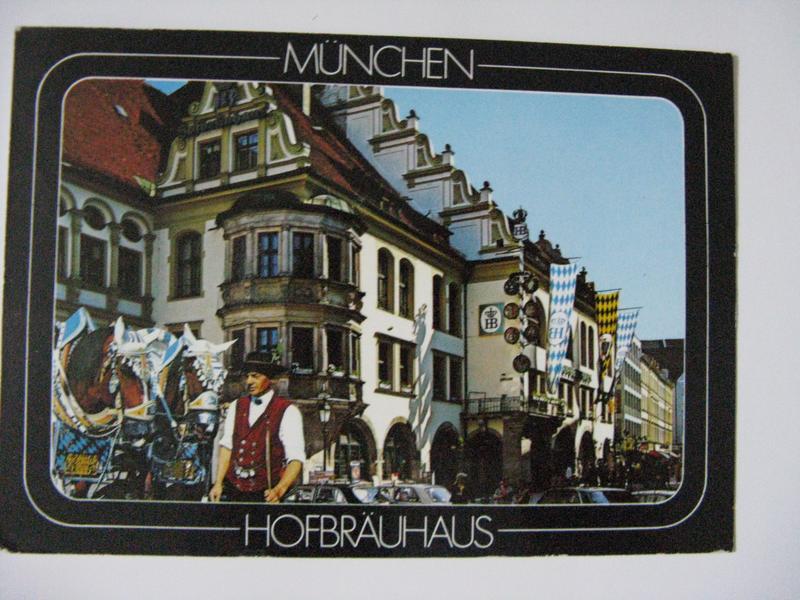 Мюнхен на открытках