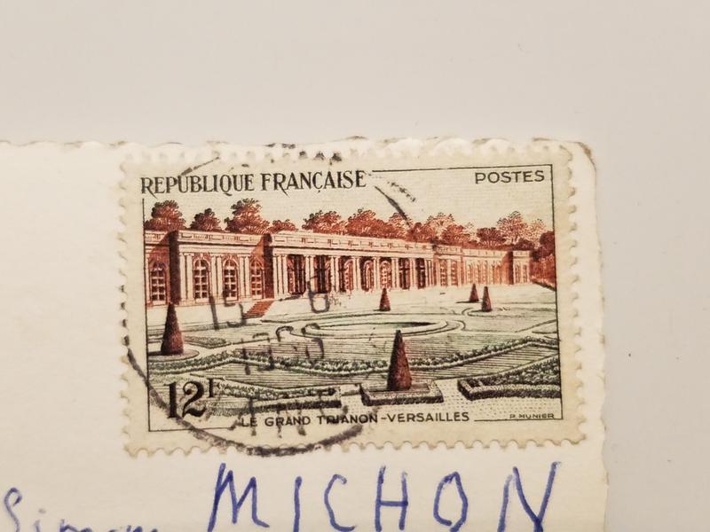 Для, почтовые открытки 1956 года