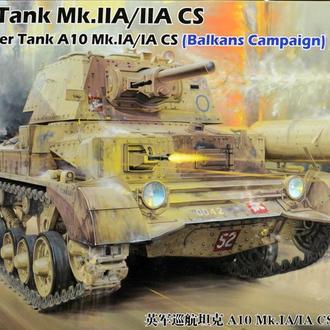 Сборная модель танка A10 Mk.Ia/Ia CS 1:35 Bronco 35151
