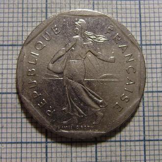 Франция, 2 франка 1981 г.