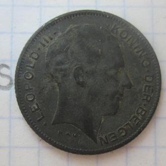 БЕЛЬГИЯ 5 франков 1941 года.
