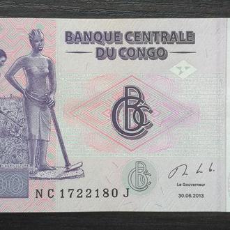 Демократическая республика Конго, 200 франков 2013 года