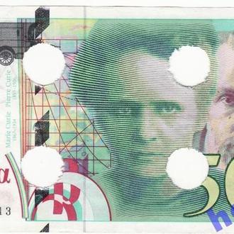 Франция 500 франков 1994  RRR! оригинал