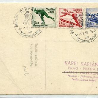 ІІІ Райх Олімпіада 1936 р.