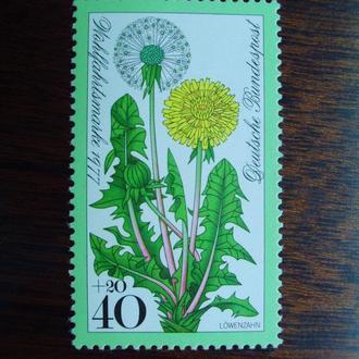ФРГ.1977г. Флора. Цветы. MNН