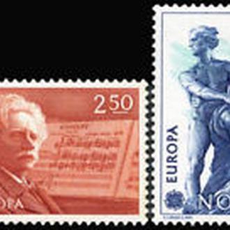 Норвегия 1983 EUROPA CEPT Прогресс и душа