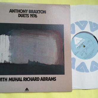 ANTHONY BRAXTON - Duets (1976) | WITH MUHAL RICHARD ABRAMS / usa , m/m