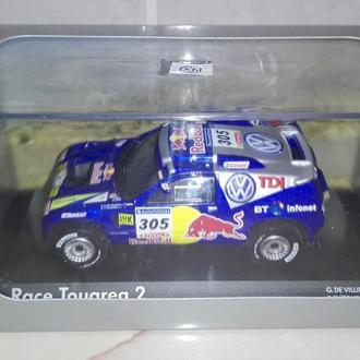 Модель автомобиля VOLKSWAGEN Race Touareg 2, Rally №305 Paris Dakar 2006. Norev.