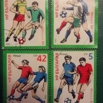 Футбол. ЧС-86.  Болгарія.