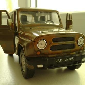 """UAZ """"HUNTER"""" СССР. Коллекционный. Металл."""