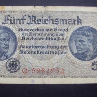 5 Рейхсмарок оккупац. Q*5982952.