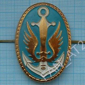 Кокарда на берет ВМС Украины. Флот. Морская пехота .1990-е