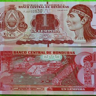 Гондурас 1 лемпир 2014 UNC