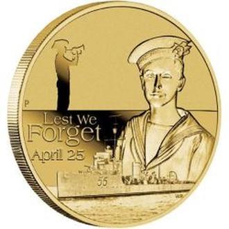 АВСТРАЛИЯ. The Perth Mint. 2010. 1$. ANZAC Day.