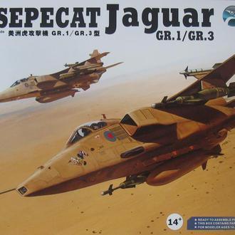 Сборная модель самолета Jaguar Gr.1 / Gr.31:48 Kitty Hawk
