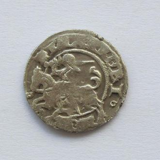 полугрош 1501-1506гг Александр Ягелончик , Литва, Вильно (А24)