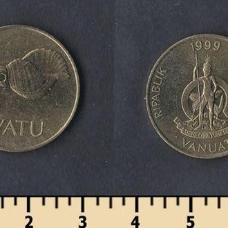 Вануату 5 вату 1999