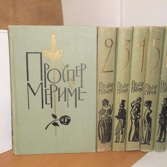 Мериме Проспер. Собрание сочинений в 6 томах. 1963 (2)