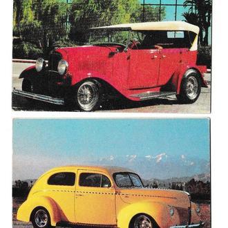 Календарики 1994 Авто ретро