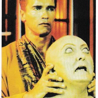 Календарик 1996 Кино, Вспомнить Всё, Арнольд Шварценеггер