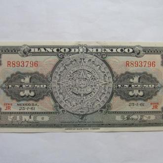 Мексика  1  песо  1961  год