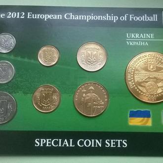 Набор Украина ЕВРО - 2012 ФУТБОЛ набір пластик картон