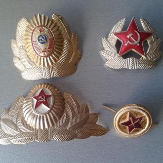 Кокарды 4 шт.СССР