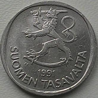 Финляндия 1 марка 1980 год СОСТОЯНИЕ!!!