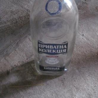 Бутылка в коллекцию или на декор. Пляшка №0005 Приватна колекція