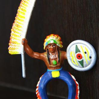 индейцы ковбои ГДР( №072) незаводская покраска
