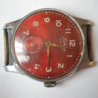 часы Победа ранние красные 1903