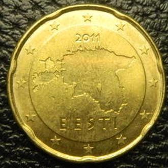 20 євроцентів 2011 Естонія