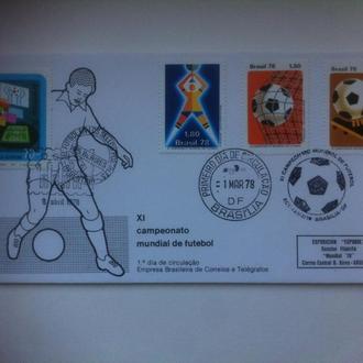футбол ЧМ 1978 Бразилия КПД