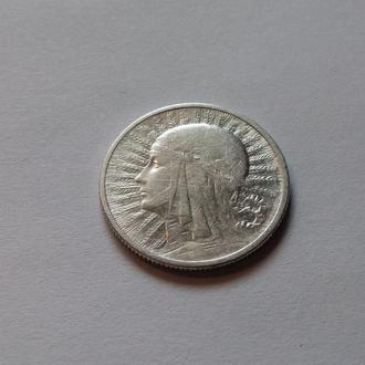 Польша 2 злотых Ядвига 1932 год. В коллекцию.. (с2-20) Еще 100 лотов!