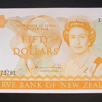 New Zealand Новая Зеландия 50 долларов 1983
