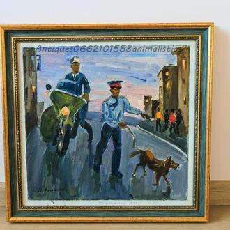 Картина Тревожный день 1982г заслуженный художник Украины С.Фоменок