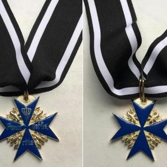 Орден «Pour Le Merite» (+лента длина 59 см)