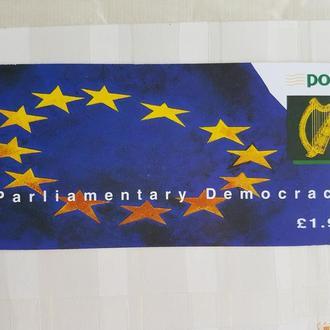 Ирландия 1994 европарламент буклет номинал MNH