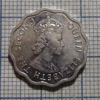 Белиз, 1 цент 2005 г. Королева Елизавета II
