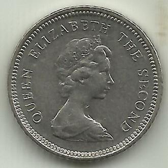 Фолклендские острова Элизабет II 5 пенсов 1998 XF+