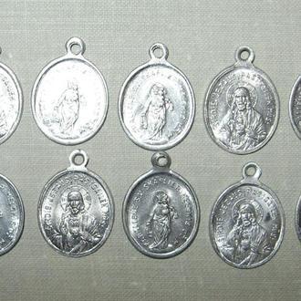 Образок католический 10 шт.